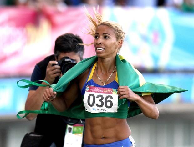 Lucimara Silvestre é uma das atrações do segundo dia Troféu Brasil de atletismo (Foto: Wagner Carmo/CBAt)
