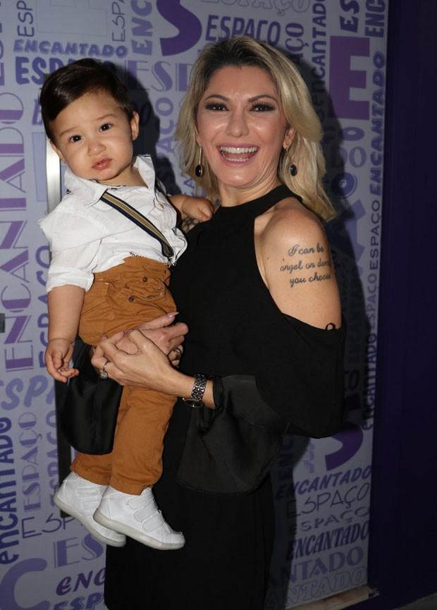 Antônia com Salvatore (Foto: AgNews / Anderson Borde)