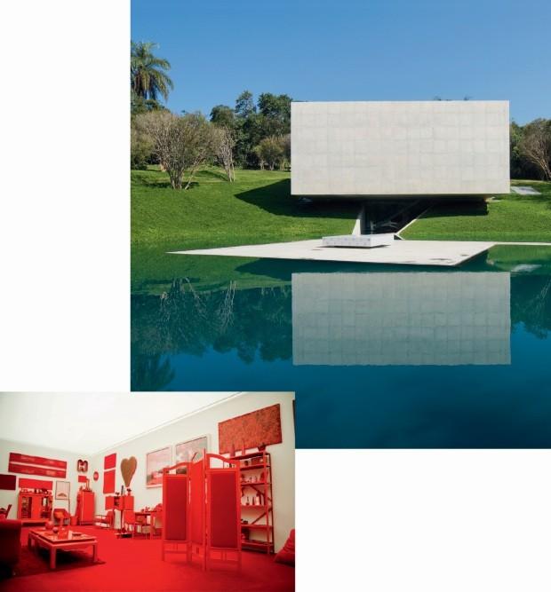 viagem os destinos preferidos de patricia urquiola (Foto: Daniela Paoliello (Desvio para o vermelho), Eduardo Eckenfels (Galeria Adriana Varejão))