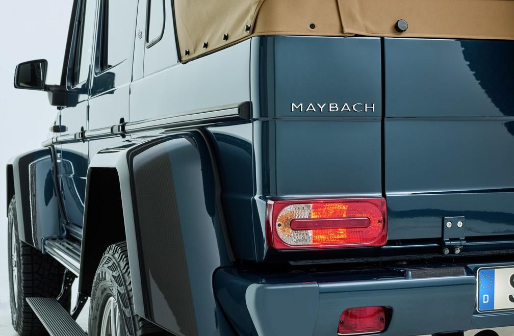 Mercedes-Maybach G 650 Landaulet (Foto: Divulgação)