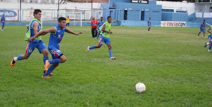 Funorte Junior teina em busca da 1ª vitória (Foto: Cid Bruno/Assessoria Funorte)