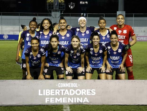 Time perfilado Corinthians final da Libertadores feminina
