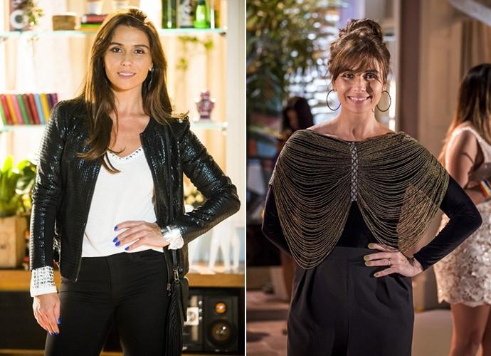 Giovanna Antonelli lança moda com a personagem Clara de Em Família (Foto: Alex Carvalho / Paulo Belote / TV Globo)