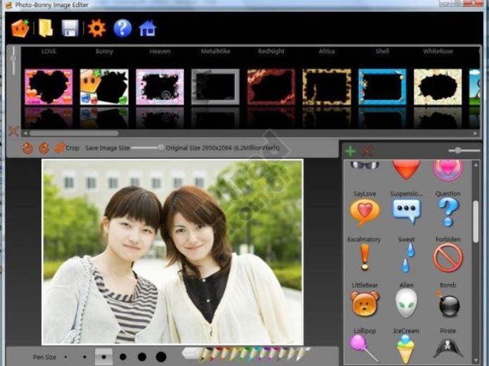 Photo-Bonny oferece diversas opções de molduras para fotos (Foto: Divulgação)