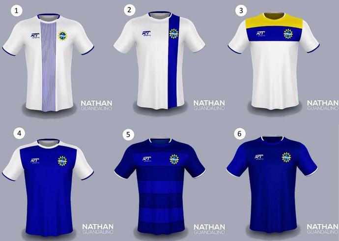 f6192d1daa Camisas São José Esporte Clube (Foto  Divulgação São José Esporte Clube)
