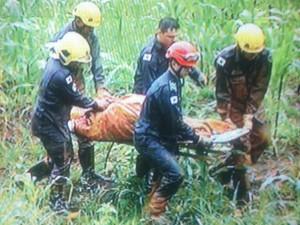 Quatro vítima já foram retiradas do local pelo Corpo de Bombeiros. (Foto: Reprodução/Inter TV)