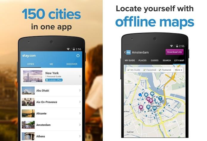 Stay.com é um aplicativo interessante para quem gosta de viajar (Foto: Divulgação/Stay.com)