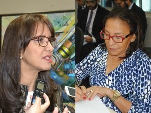 Marília Góes (à esquerda) e Maria Góes estão sem presidência de comissões (Foto: Ascom/Alap)