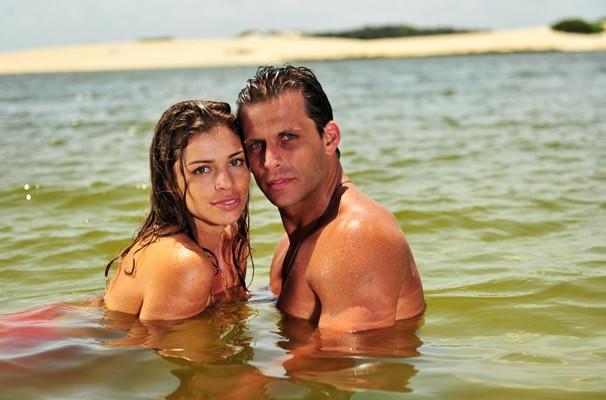 Ester e Cassiano, um amor puro e sem frescura  (Foto: TV GLOBO / João Miguel Júnior)
