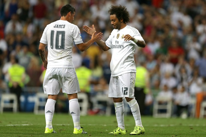 Marcelo James Rodríguez Real Madrid Galatasaray (Foto: AP)
