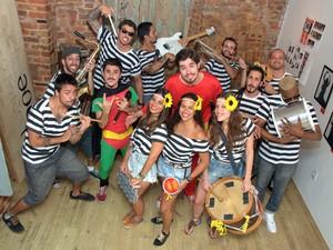 Brasília Amarela ensaia na boate Praia Club. (Foto: Guilherme Carvalho/ Divulgação Brasília Amarela)