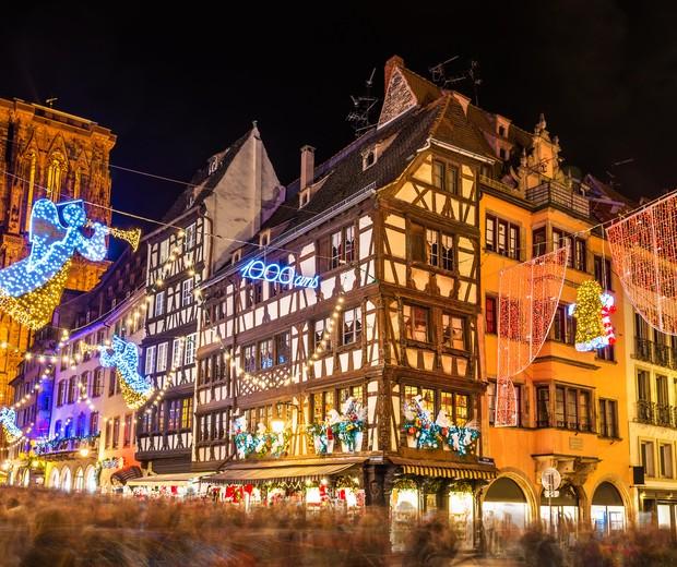 O mercado de Natal de Estrasburgo (Foto: Thinkstock)