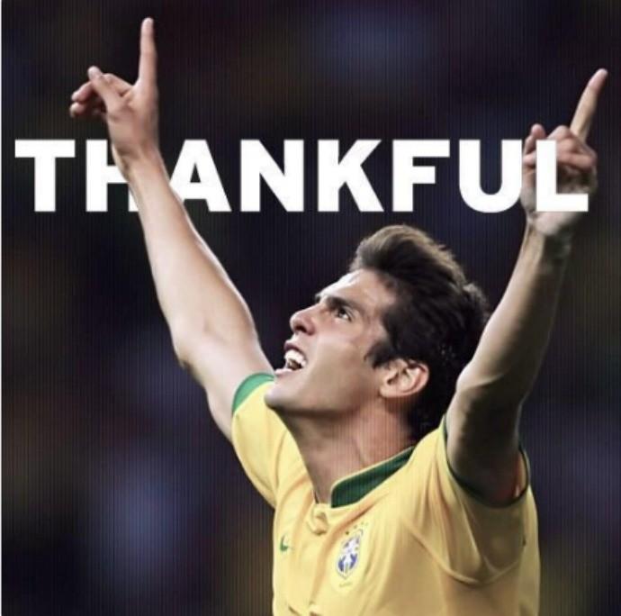 """BLOG: Kaká vibra com mais uma convocação para a Seleção: """"Grande honra e alegria"""""""