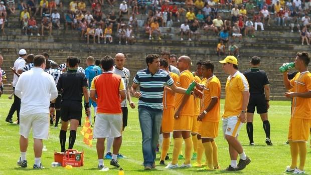 Brasiliense x Treze Série C (Foto: Divulgação / Brasiliense)