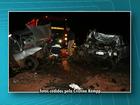 Três pessoas morrem em acidente entre dois carros na BR-163, no PR