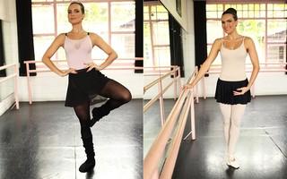Kamilla Salgado posa para o EGO em aula de ballet (Foto: Iwi Onodera / EGO)