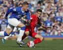 Everton e Liverpool empatam clássico e seguem no meio da tabela no Inglês