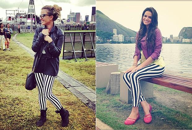 BRUNA MARQUEZINE E NATHÁLIA RODRIGUES (Foto: Reprodução/Instagram)