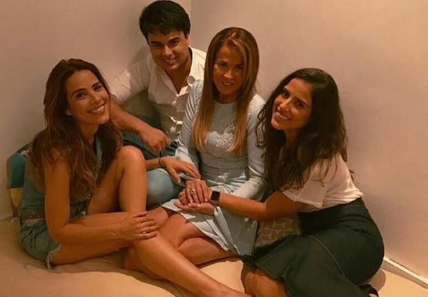 Wanessa, Igor, Zilu e Camilla Camargo (Foto: Reprodução/Instagram)