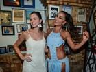 Gatas! Sabrina Sato lidera musas Nicole Bahls e Agatha Moreira na Vila