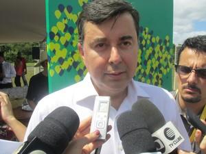 Presidente do Google Brasil explica escolha do estado para lançamento de projeto (Foto: Catarina Costa/G1)