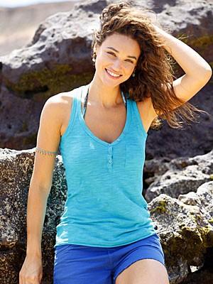 Débora Nascimento tem seus segredos para manter a beleza inquestionável (Foto: Flor do Caribe/TV Globo)