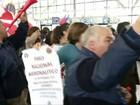 Greve de aeroviários no Chile deixa brasileiros retidos e sem hotel
