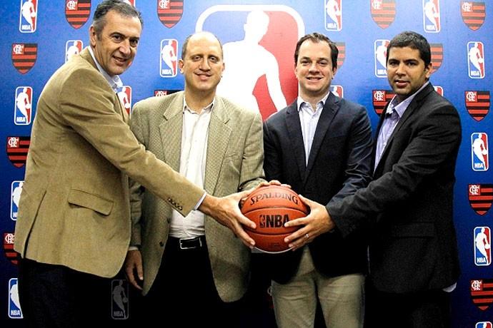 Flamengo basquete convite NBA (Foto: Divulgação)