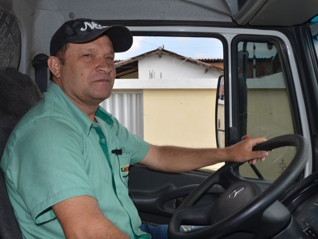 Edmílson Martins escolheu Campina Grande para morar e diz que não quer sair mais da cidade (Foto: Artur Lira/G1)