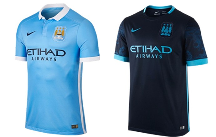 Camisas Champions manchester city