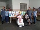 Bombeiros entregam doações em instituição de Ituiutaba