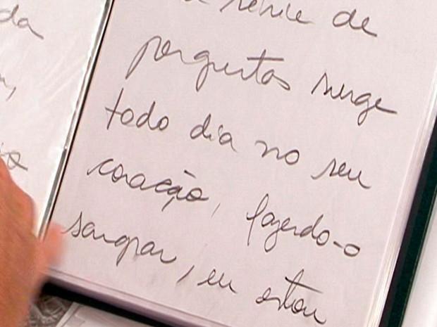 Cartas psicografadas Teledomingo (Foto: Reprodução/RBS TV)