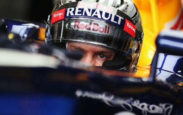Sebastian Vettel GP do Brasil Interlagos Fórmula 1 (Foto: Getty Images)