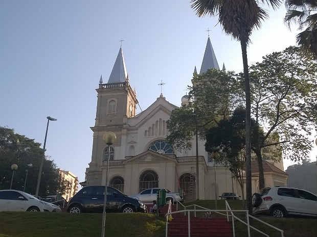 Catedral Metropolitana Juiz de Fora (Foto: Roberta Oliveira/ G1)