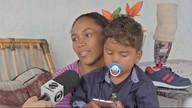 Família do menino Fabinho precisa de ajuda pra construir a casa