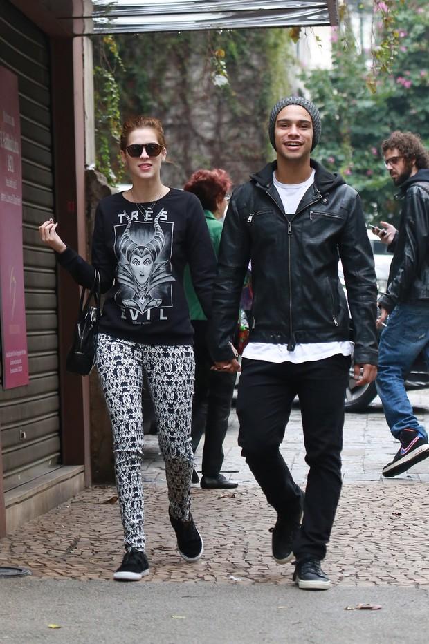 Sophia Abrahão e Sérgio Malheiros (Foto: Dilson Silva/AgNews)