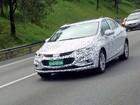 Novo Chevrolet Cruze é visto em testes em São Bernardo do Campo