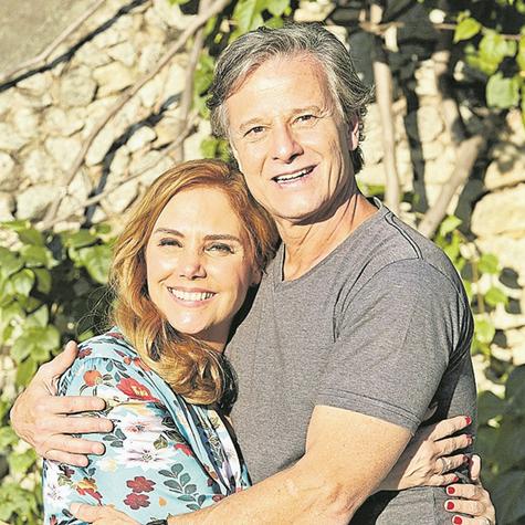 Heloísa Périssé e Marcello Novaes  (Foto: Luciana Coutinho)