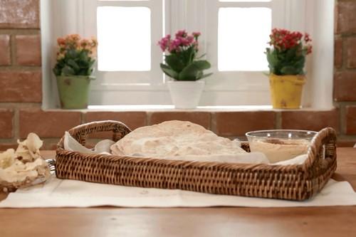 Pão Árabe Caseiro