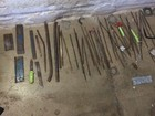 Revista encontra 60 facas artesanais em presídio de Palmas