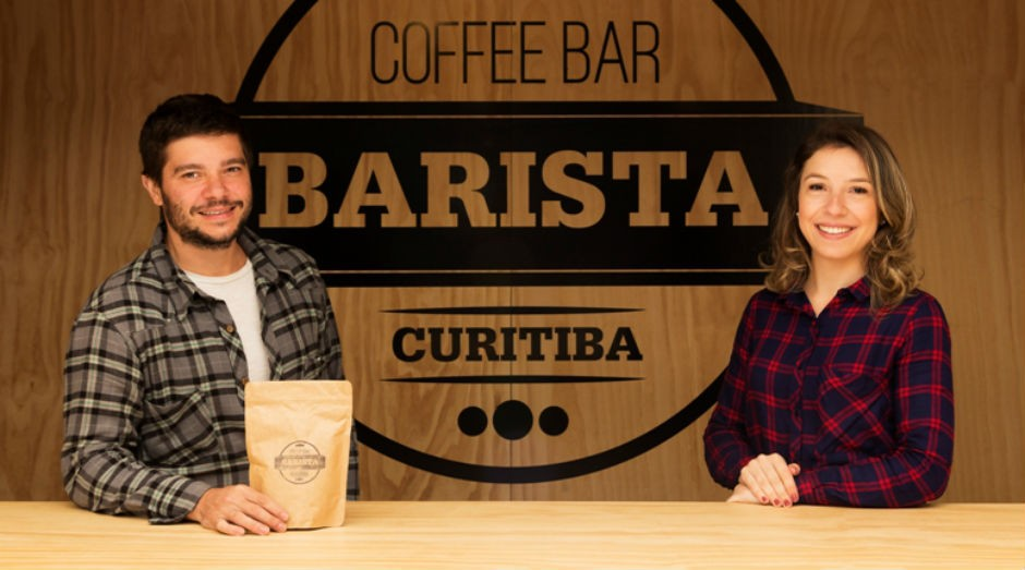 Estela Cote e Léo Moço, donos do Barista Coffee Bar (Foto: Divulgação)