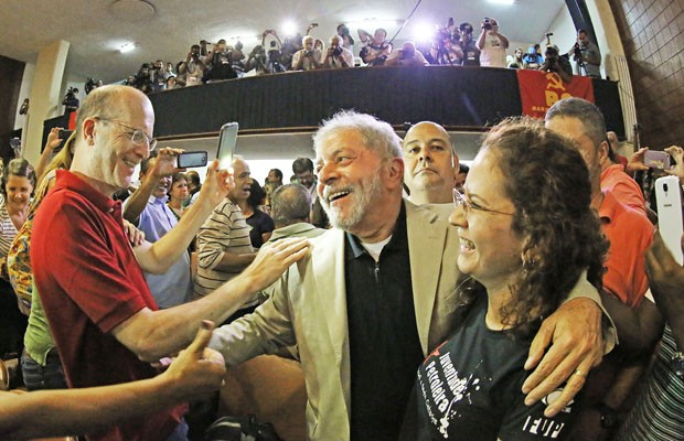 Lula participou de evento na Associação Brasileira de Imprensa (Foto: Ricardo Stuckert/ Instituto Lula)