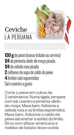 Ceviche - La Peruana (Foto: Letícia Moreira/ÉPOCA)