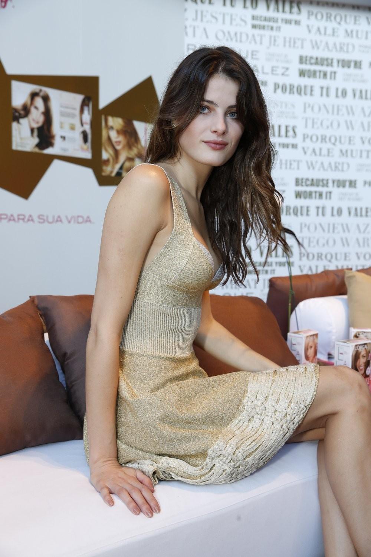 Isabeli Fontana no Fashion Rio (Foto: Felipe Panfili / AgNews)