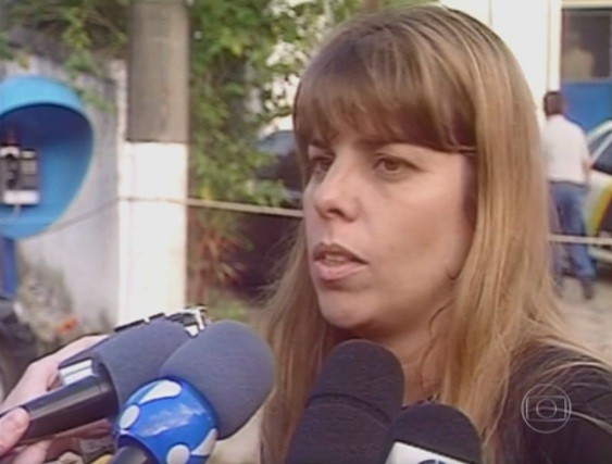 A juíza Daniela Barbosa Assumpção de Souza, responsável pelo bloqueio do WhatsApp (Foto: Reprodução / TV Globo)
