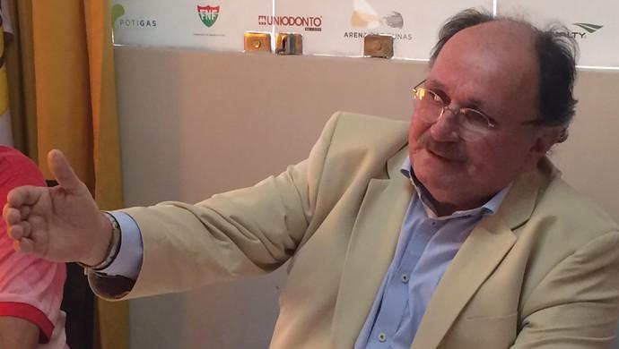 RN - reunião Campeonato Potiguar 2017 - José Vanildo (Foto: Augusto Gomes/GloboEsporte.com)