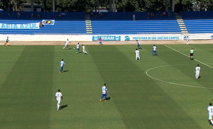São José FC perdeu para a Matonense na estreia da A3 Paulista (Foto: Peterson Grecco/TV Vanguarda)