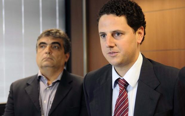 Ricardo Barra e Tiago Lacerda (Foto: Wellington Pedro/ Imprensa MG)