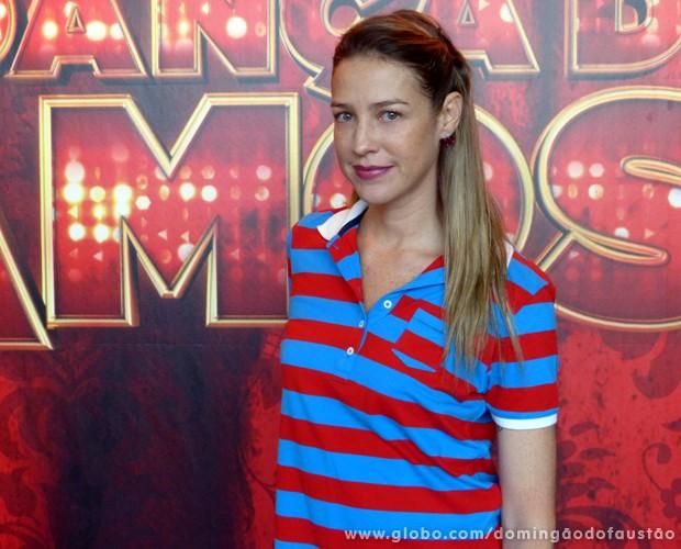 Luana Piovani (Foto: Domingão do Faustão / TV Globo)