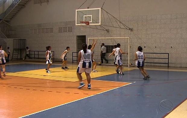 Basquete; IDFG; Jogos da Juventude (Foto: Reprodução/TV Sergipe)